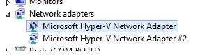 HyperV NIC